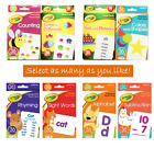 Kyпить Crayola Flash Cards For Toddlers 3+ Alphabet Phonics Counting Colors Shape Rhyms на еВаy.соm