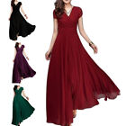 2019 Formal Chiffon Long Evening Ball Gown Party Prom Wedding Bridesmaid Dress