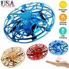 Drone Infrared Sensor UFO Flying Toy Induction Aircraft Quadcopter for Kid K4A8