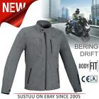 Bering Carver Men's Motorcycle/Bike Textile Waterproof Jackets│CE Approved│Grey