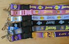 NBA Los Angeles Lakers Lanyard Key Ring Keychain ID Holder Kobe Lebron on eBay
