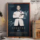 Poster 007 Spectre Daniel Craig James Bond Agent 007 Tribute Film Action Movie $40.65 AUD on eBay