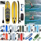 Camping Survivals 10' Inflatable Stand Up Paddle Board SUP Package Fins Paddle