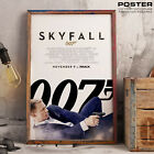 Poster 007 Skyfall Daniel Craig James Bond Agent 007 Tribute Film Action Movie $40.65 AUD on eBay