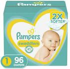 Diapers Pampers Swaddlers Disposable Baby Newborn to 5  7