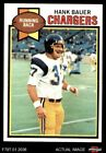 1979 Topps #499 Hank Bauer Chargers 6 - EX/MT $0.99 USD on eBay