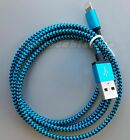 USB Braided Charging Cable Cord For IPhone and Apple
