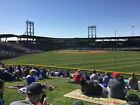 1-11 CHICAGO CUBS vs CHICAGO WHITE SOX FRI, MARCH 6TH LAWN TICKETS on Ebay