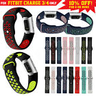 For Fitbit Charge 4 Band Charge 3/se Sports Silicone Replacement Straps Bracelet
