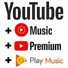 Kyпить Youtube Premium & Youtube Music | WORLDWIDE | UPGRADE OWN ACC | FAST DELIVERY на еВаy.соm