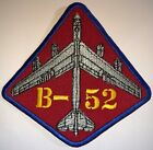 USAF B-52 BOMBER PATCH HOOK & SEW REPRO NEW (A450)