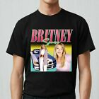 Vintage Rare Britney Spears T Shirt Reprint For Men Funny S to 4XL V1188 image