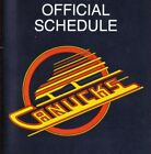 1970's to 2000's NHL Vancouver Canucks Hockey Schedule - U-Pick From List $6.95 CAD on eBay