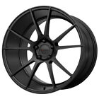 "4-KMC KM709 Flux 20x8.5 5x4.5"" +35mm Satin Black Wheels Rims 20"" Inch $1477.14 CAD on eBay"
