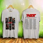 Vintage RATT Invasion In Your Privacy World Tour 1985 Reprint T-shirt Size S-2XL image