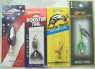 (4) Fishing Spinners ~ Various Lots Available ~  Various Sizes and Types