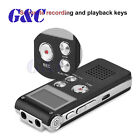 Voice Activated 8GB Digital Sound Audio Recorder Dictaphone MP3 Player