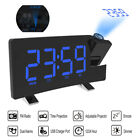 Clock Multifuctional Projection FM Radio Alarm Clock With USB Charging Port L2J8
