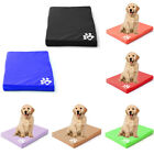 Dogs Cage Crate Mat Waterproof Mattress Pet Dog Cat Bed Pad Cushion PU Leather