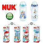 NUK First Choice+ Frozen & Toy Story Leakproof BPA Free Baby Cup Bottle 6-12m+