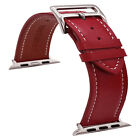 Leather iWatch Band Compatible with iWatch 42mm 44mm iWatch Series 5,Series 4 3