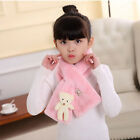 Cute Animal Autumn Winter Warm Scarf Faux Fur Neck Warmer Scarf For Kids Gift CF