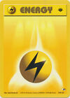Lightning Electric  Energy Common Pokemon Card 1st Edition Gym Heroes 130/132