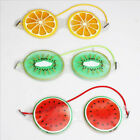 Hot Compress Gel Eye Protection Sleeping Mask Pvc Cute Fruit Shape Care Tools Cf
