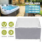 Waterproof Hot Tub Dust Cover Durable Cap Spa Cover Sun Lightweight Bag Shield
