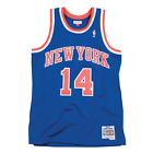 Anthony Mason New York Knicks Hardwood Classics Throwback NBA Swingman Jersey on eBay