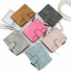 Women Girl Short Small Wallet Lady Leather Folding Coin Card Holder Money Purse image