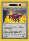 Cinnabar City Stadium Uncommon Pokemon Card 1st Edition Gym Challenge 113/132