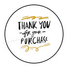 """30 THANK YOU FOR YOUR PURCHASE ENVELOPE SEALS LABELS STICKERS 1.5"""" ROUND"""