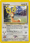 Stantler Common Pokemon Card Neo Genesis 76/111