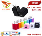 3-Port Fast Wall Charger Charging Block Phone USB Cube iPhone iPad Samsung