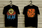 BLACK SABBATH Mob Rules concert tour 1981 T-Shirt image
