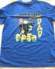 Despicable Me OFFICIAL T-Shirt worlds best dad Minions just £4.99