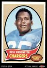 1970 Topps #206 Russ Washington Chargers Mizzou 5 - EX $2.45 USD on eBay