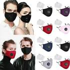 US Air Purifying Mask Carbon Filter Cotton Mouth Muffle Anti Haze Fog Respirator