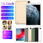 "Triple Camera 10.1"" Ultra-thin 4G Tablet PC Android 8 128GB GPS  WIFI Phablet"