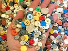 Внешний вид - New lots of 100 Buttons assorted mixed color and sizes bulk 1/4 inch to 5/8 in.