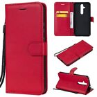 Leather Flip Wallet Card Shockproof Stand Case Cover For Nokia x71/8.1plus/3.2