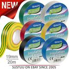 PVC Electrical Insulation Insulating Tape│CE Marked & RoHS Approved│19mm x 20m