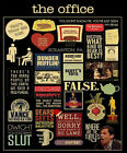 THE OFFICE Quotes The Office POSTER print SIZES MICHAEL SCOTT FUNNY FALSE MORE