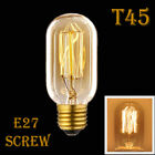E27 E14 Screw 40W Vintage Antique Retro 60W Light Filament Edison Lamp Bulb