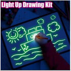 Light Up Drawing Tablet Kit Draw with Light Kids Gift Arts Educational