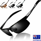 Mens Polarized Driving Sunglasses Fishing Golf Goggles Sport Outdoor Eyewear