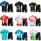 2020 Men's Cycling Short Sleeve Jersey Set Shorts Bicycle Outfits Bike Clothing on eBay