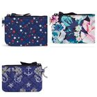 New w/ Tags Vera Bradley Zip ID Case in STAR SPANGLED, SEAHORSE OF COURSE GARDEN