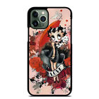 BETTY BOOP iPhone 6 6S 7 8 Plus X XS Max XR 11 Pro Max Case Cover $20.24 CAD on eBay
